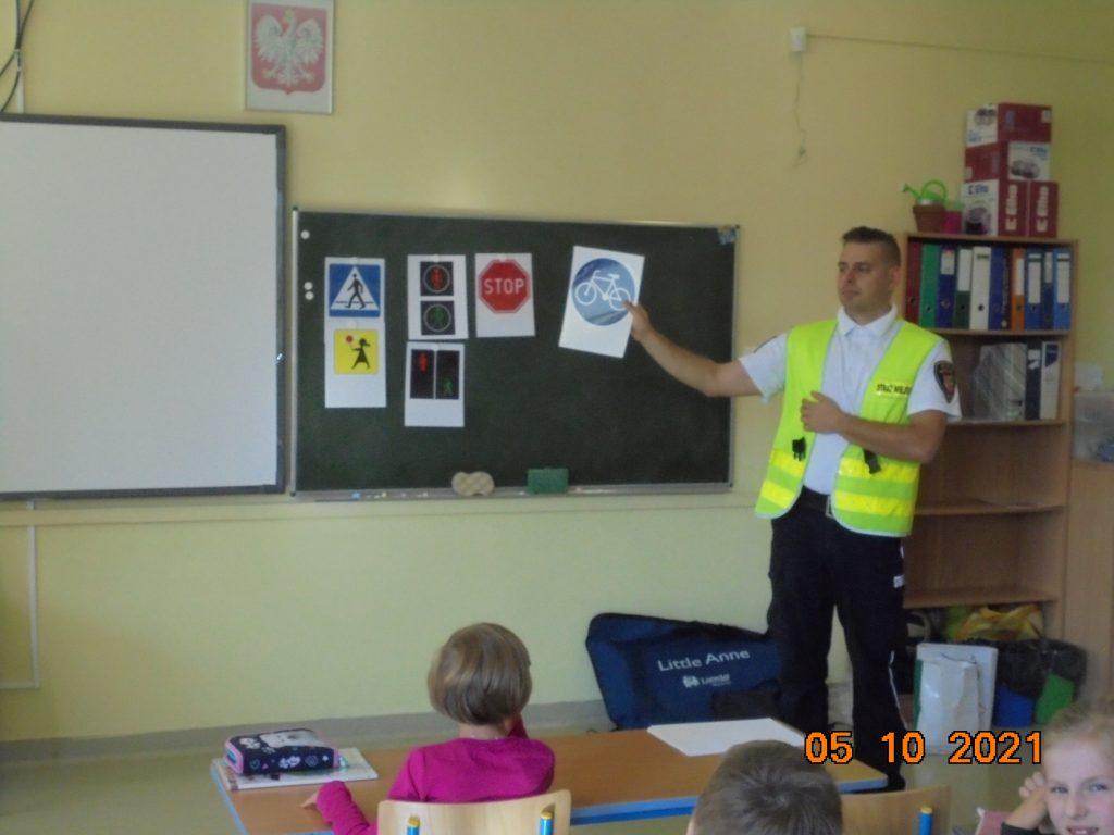 Wizyta w Szkole Podstawowej nr 4 w Ząbkach